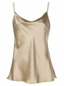 Nili Lotan cowl neck cami top - NEUTRALS