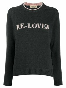 Pringle of Scotland Re-Loved recycled jumper - Grey