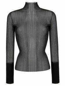 Dion Lee fine knit jumper - Black