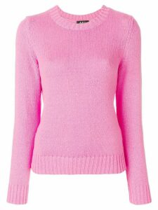 A.P.C. round neck sweater - PINK