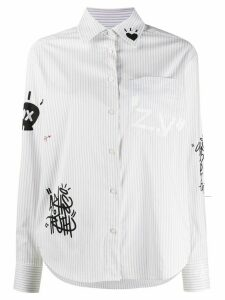 Zadig & Voltaire Tais Raye striped shirt - NEUTRALS