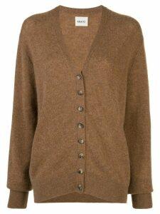 Khaite Amelia cashmere cardigan - Brown