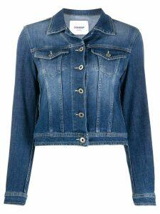 Dondup cropped denim jacket - Blue
