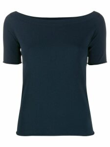 Nuur scoop neck top - Blue