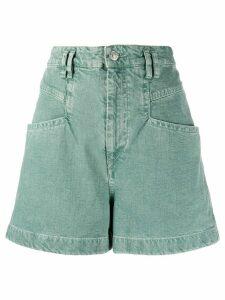 Isabel Marant Esquia shorts - Green