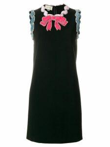 Gucci contrasting trim dress - Black