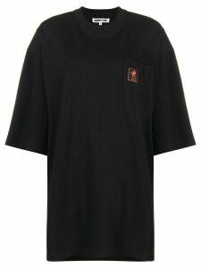 McQ Alexander McQueen oversized logo print T-shirt - Black