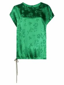 Essentiel Antwerp Vuvuzela floral print T-shirt - Green