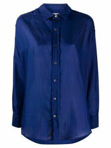 Katharine Hamnett London oversized button shirt - Blue
