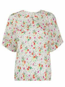 Essentiel Antwerp Vossel floral T-shirt - NEUTRALS