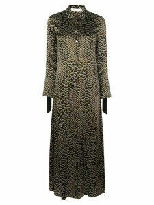 Olivia von Halle Hero Estella silk dress - Brown