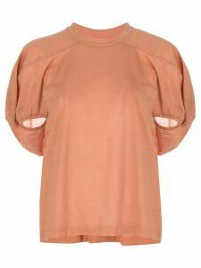 Marques'Almeida puff sleeve T-shirt - PINK