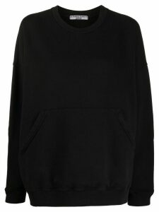 Katharine Hamnett London relaxed fit front pocket sweatshirt - Black
