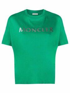 Moncler logo-print T-shirt - Green