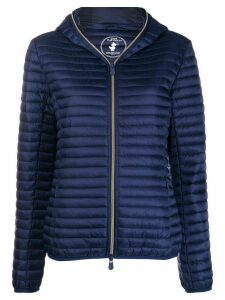 Save The Duck padded zip-up jacket - Blue