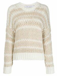 IRO Azalea striped jumper - NEUTRALS