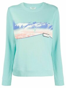 Kenzo surfer print sweatshirt - Blue