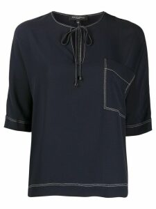 Antonelli Ardisia round neck T-shirt - Blue