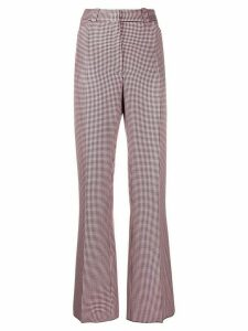 Mulberry Eve mini houndstooth trousers - PINK