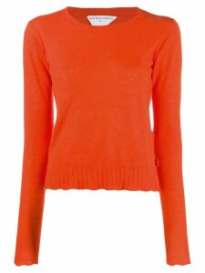 Bottega Veneta button detail jumper - ORANGE
