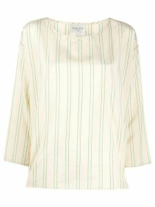 Forte Forte striped tunic top - NEUTRALS