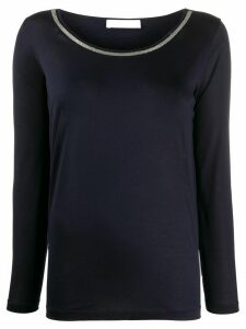 Fabiana Filippi lightweight cotton sweatshirt - Blue