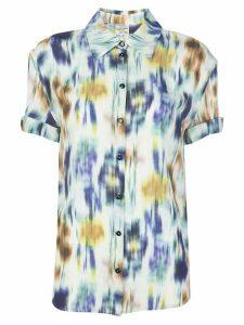 Baum Und Pferdgarten tie dye short sleeve shirt - White