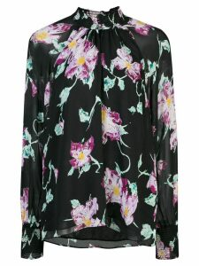 A.L.C. floral blouse - Black
