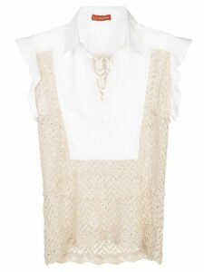 Altuzarra Batten crochet blouse - White