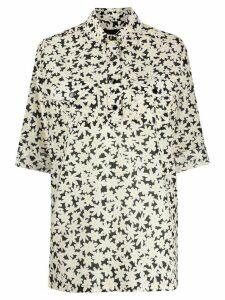 Marc Jacobs floral print shirt - Black