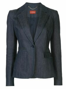 Altuzarra Hillcrest single-breasted denim blazer - Blue