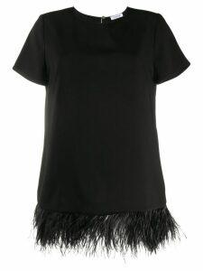 P.A.R.O.S.H. contrast trim blouse - Black