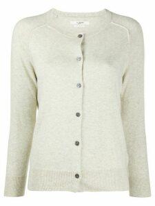 Isabel Marant Étoile round neck buttoned cardigan - Grey