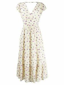 Masscob floral print dress - NEUTRALS