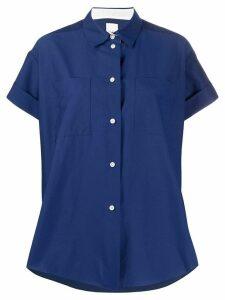 Paul Smith oversized short-sleeved shirt - Blue