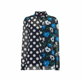 Kitri Adela Spot Print Blouse
