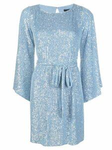 Jay Godfrey Maggie sequinned mini dress - Blue
