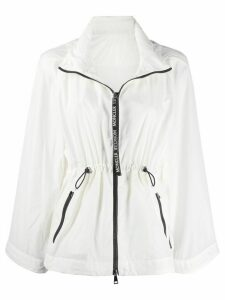 Moncler Lime zip-front jacket - White