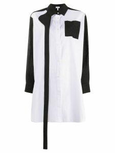 Loewe strap oversized shirt - White