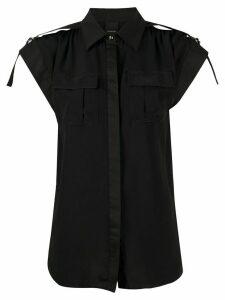 Pinko Dottie short sleeved shirt - Black
