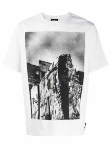 U.P.W.W. photo print T-shirt - White