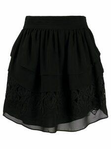 IRO Mugue tiered ruffle skirt - Black
