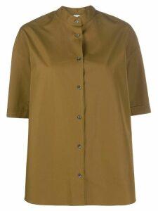 Aspesi oversized short-sleeve shirt - Brown
