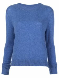 The Elder Statesman crew-neck cashmere jumper - Blue