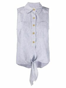 Michael Michael Kors sleeveless shirt - Blue