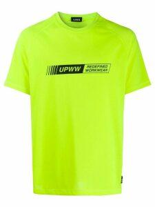 U.P.W.W. logo print T-shirt - Green