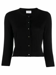 Snobby Sheep fine knit cropped cardigan - Black