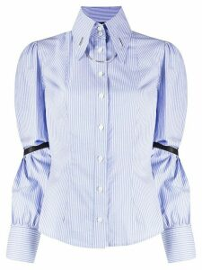 John Richmond long sleeve pointed collar shirt - Blue