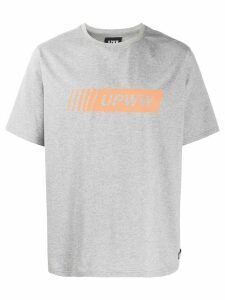 U.P.W.W. logo print T-shirt - Grey
