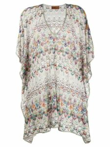 Missoni Mare tunic beach cover-up - White